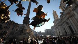 Viva la Befana: a San Pietro si festeggia la tradizione