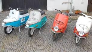 Cezeta 506: lo scooter viene dall'Est