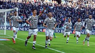 Juventus-Verona, le immagini del match