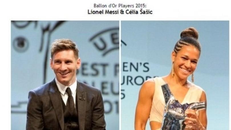 «Messi Pallone d'Oro 2015». La gaffe della Fifa che però smentisce