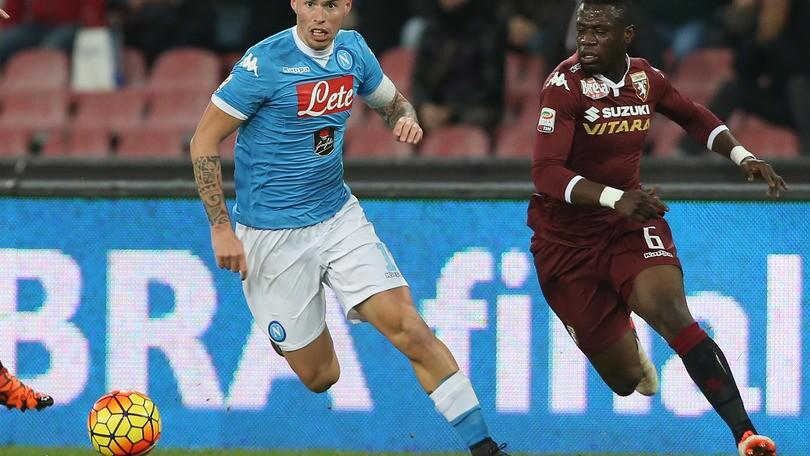 Diretta Napoli-Torino 2-1, Insigne e Hamsik gol