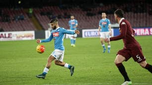 Napoli-Torino 2-1: gol Insigne e Hamsik, che festa al San Paolo