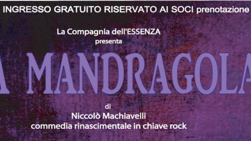 La Mandragola Rock di Paolo Perelli