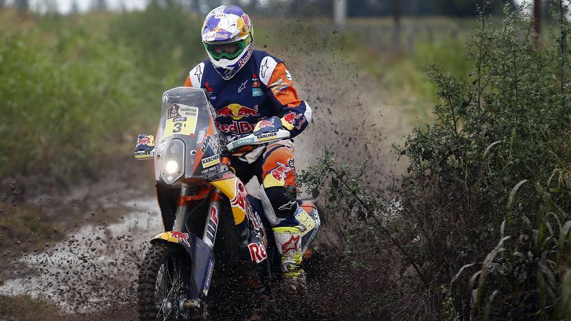 Dakar moto, 5° tappa: dominio Price e KTM