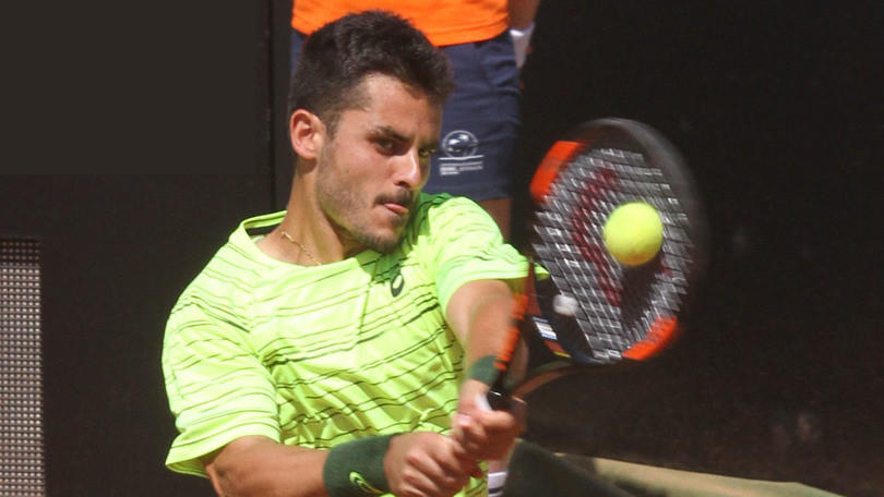 Tennis Atp Chennai, Fabbiano show: batte Muller e vola ai quarti