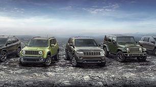 Jeep 75° Anniversario, la gamma