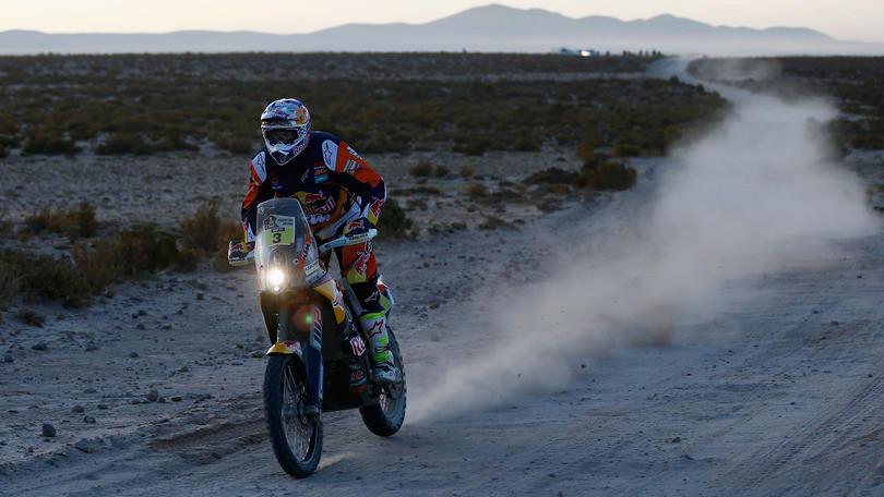 Dakar moto, 6° tappa: la conferma di Price