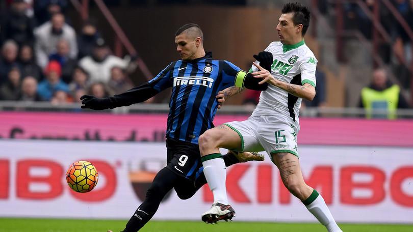 Serie A, diretta Inter-Sassuolo 0-1