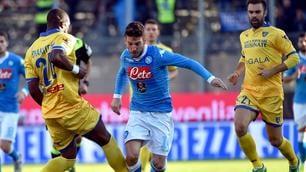 Frosinone-Napoli 1-5: i campioni d'inverno, che show al Matusa