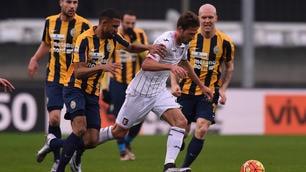 Verona-Palermo 0-1:Vazquez sblocca il match