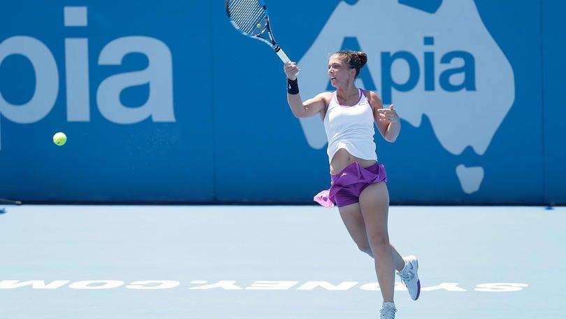 Tennis Wta: Errani al 2° turno, Vinci out