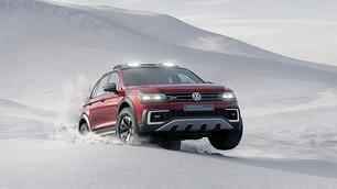 VolkswagenTiguan GTE Active Concept, Salone di Detroit 2016