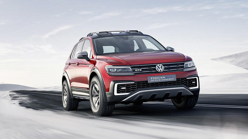Volkswagen Tiguan GTE, SUV ibrido in arrivo