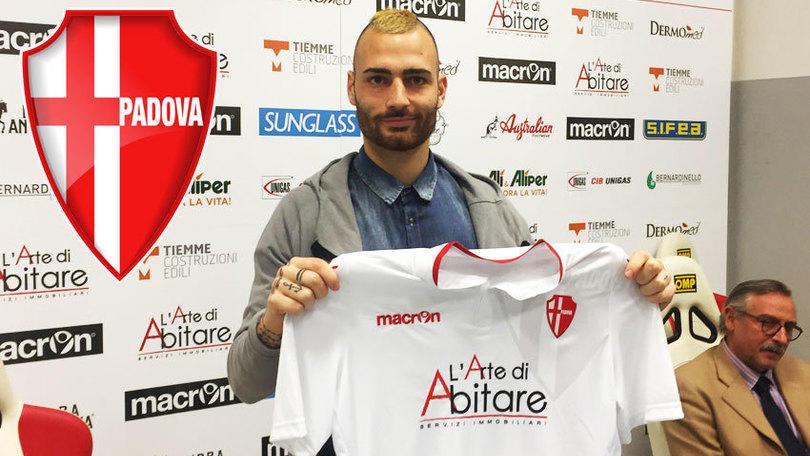 Calciomercato Padova, ufficiale la firma di Sbraga