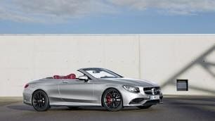Mercedes-AMG S 63 4Matic Cabrio 'Edition 130', Salone di Detroit 2016