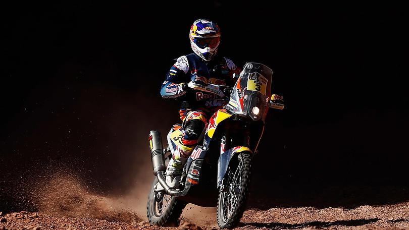 Dakar moto, 9° tappa: Goncalves fuori, Price sorride dopo lo stop