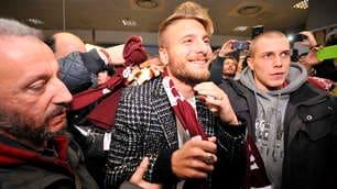 Calciomercato Torino, il ritorno di Immobile: bagno di folla all'aeroporto!