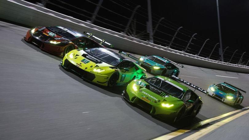 Lamborghini, storico esordio alla 24 Ore di Daytona