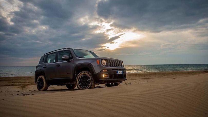Jeep Renegade Night Eagle, arriva la serie speciale