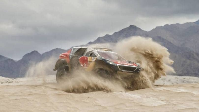 "Dakar 2016, Peterhansel leader dopo tappa ""massacro"""
