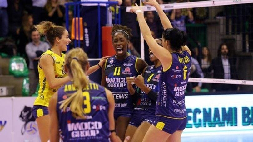Volley: A1 Femminile, si ricomincia con Bergamo-Conegliano