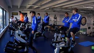 Inter, nerazzurri a lavoro: la sfida contro il Napoli si avvicina