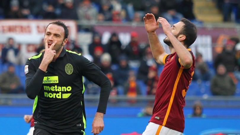 Serie A, Roma-Verona 1-1: Spalletti, falsa partenza