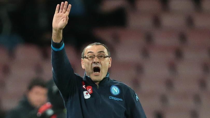 Napoli, Sarri: «Ho chiesto scusa a Mancini, ma certe cose devono restare in campo»