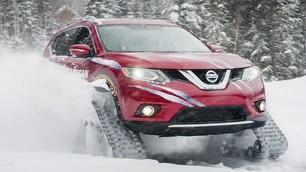 Nissan Rogue Warrior, il SUV che sa sciare