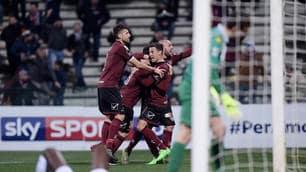 Serie B: Salernitana, che tris! Brescia travolto 3-0