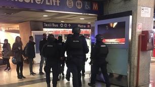 Roma, paura alla stazione Termini: ecco le immagini