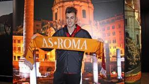 Roma, El Shaarawy sbarca a Fiumicino