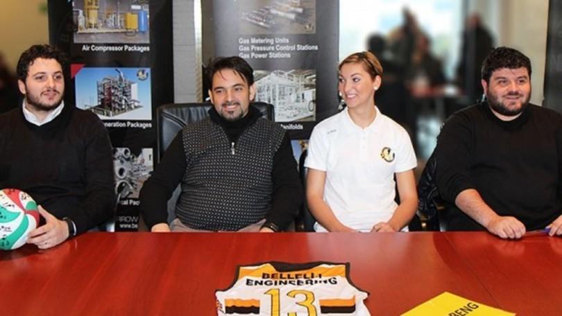 Volley: A2 Femminile, la Beng ha presentato Ariana Pirv