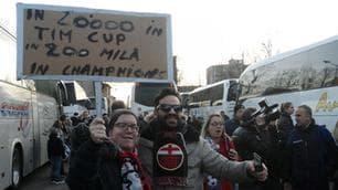 Coppa Italia, 20mila tifosi dell'Alessandria a Torino