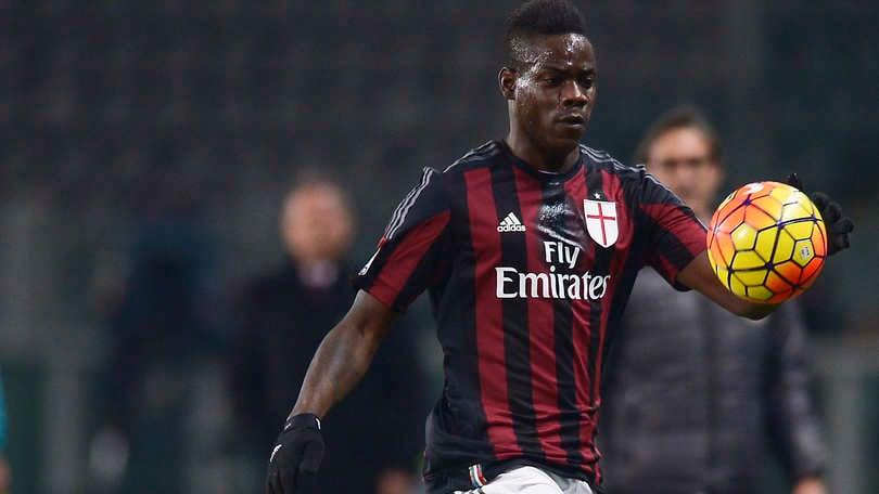 Coppa Italia, diretta Alessandria-Milan 0-1: Balotelli su rigore