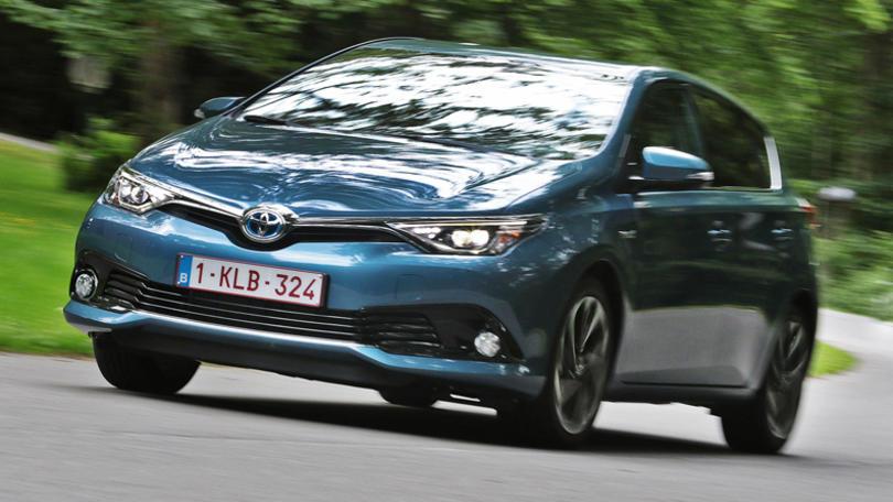Toyota Auris Hybrid La Full Optional Green La Prova Corriere