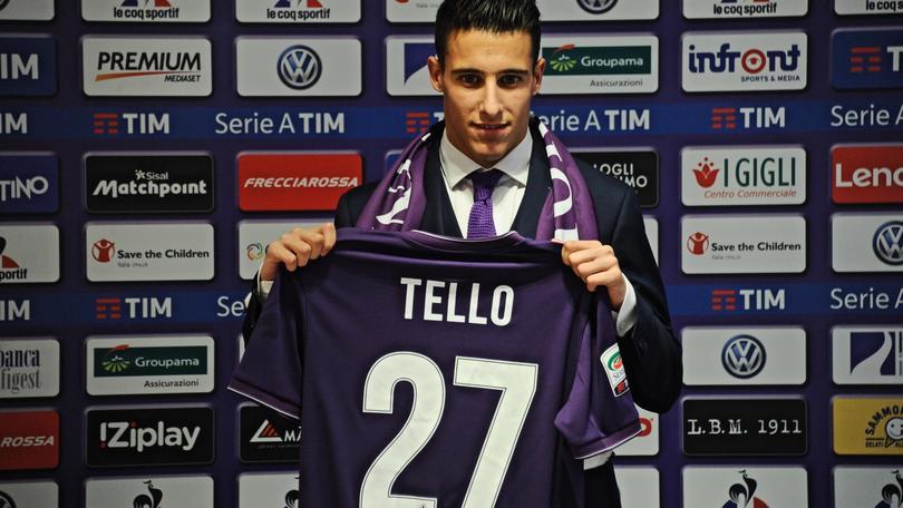 Calciomercato Tello: «Fiorentina, amore a prima vista»