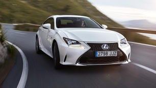 Lexus RC: coupé e hybrid