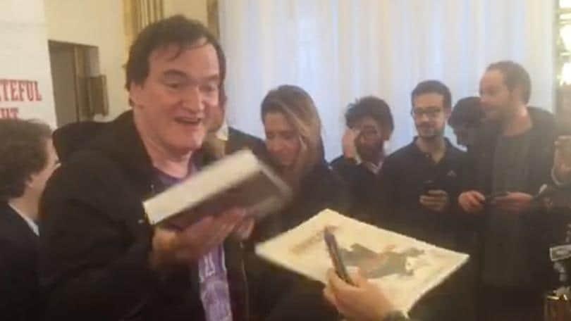Tarantino e Morricone, show a Roma per The Hateful Eight