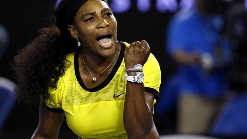 Tennis, Australian Open: Serena Williams, trofeo a 1,25