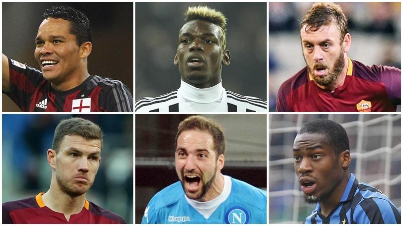 Serie A, ecco i 10 giocatori più costosi