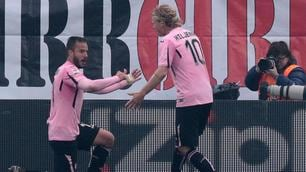 Serie A, Carpi-Palermo 1-1: Mancosu risponde al violino di Gilardino