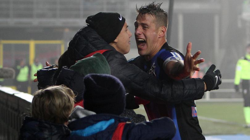 Serie A, Atalanta-Sassuolo 1-1: Denis saluta con un gol