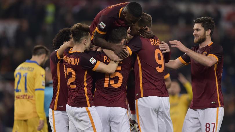 Diretta Roma-Frosinone 3-1: Pjanic firma il tris all'84'