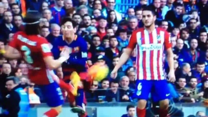 Liga, Vieri su Filipe Luis: «Fallo ripugnante su Messi, merita 10 giornate»