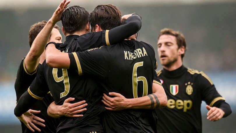 Chievo-Juventus 0-4, Allegri eguaglia Conte e vola in testa alla A