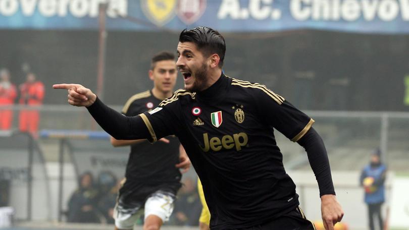Serie A, Juve-Genoa: quota da doppietta per Morata