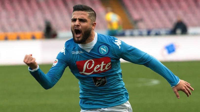 Serie A, Napoli-Empoli 5-1: Insigne, Higuain e Callejon, azzurri di nuovo in vetta