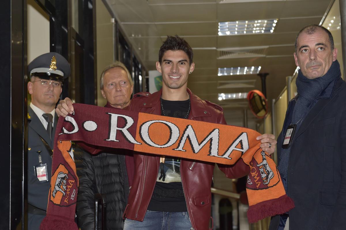 Calciomercato Roma, ecco Perotti: è arrivato nella capitale