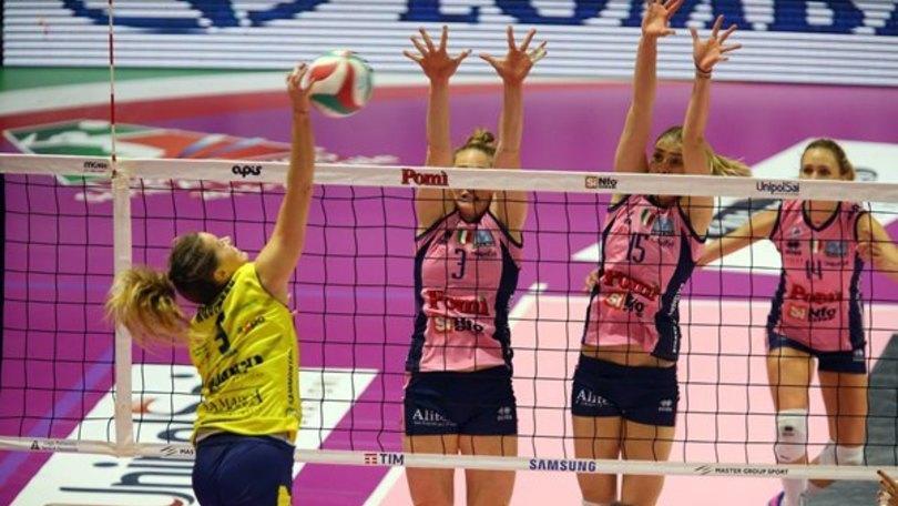 Volley: A1 Femminile, Conegliano fa suo il big match di Cremona